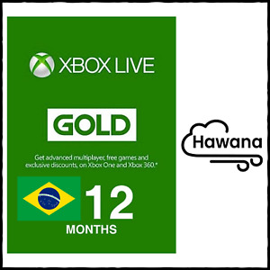 Microsoft Xbox Live Gold 12 Month Membership (Brazil) – VPN REQUIRED USA