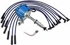 FORD FE 332 352 360 390 406 427 428 BLUE HEI Distributor + 8mm SPARK PLUG WIRES