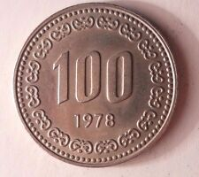 1978 SOUTH KOREA 100 WON - Excellent Vintage Coin - BARGAIN BIN #78