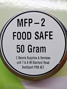 SYNTHETIC GREASE WITH PTFE 50 GRAM TIN MFP 2 FOOD SAFE GREASE