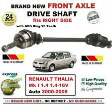 Para Renault Thalia Mk i 1.4 16V Auto 2000-2005 New Eje Delantero Dcho. de