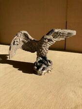 SILVER PLATED 925 TEK FORM EAGLE SCULPTURE VERY GOOD CONDITION