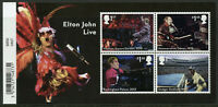 GB 2019 MNH Music Giants Elton John 4v M/S Famous People Celebrities Stamps