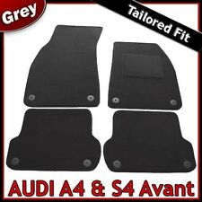 Audi A4 Estate Avant B7 2005-2008 Tailored Car Floor Carpet Mats GREY