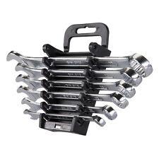 Silverline SP10 Combination Spanner Set 6pc 8 - 17mm Metric