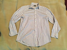 """Mens Ted Baker Endurance Super Fine Cotton Shirt Size 16"""" Collar Great Condition"""