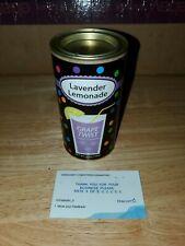 Lavender lemonade GRAPE TWIST 8OZ Tin BB 05/2022 8oz Tin
