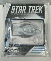 Eaglemoss Star Trek Starships Warship Voyager #132 New In Bag w' Magazine