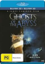 Ghosts of the Abyss Blu-Ray [3D + 2D] New/Sealed