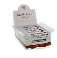 3 New Forever Living Lip Lips Balm Sticks with Jojoba Aloe Vera and Beeswax UK