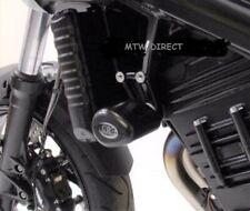 BMW F800 R 2009-2014 R&G Racing black aero crash protectors bungs bobbins