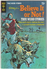 Ripley's Believe It or Not! Comic Book #17 Gold Key 1969 VERY FINE-