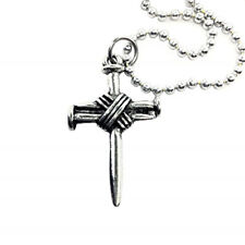 Cross Silver (Bf6Ball) Wire Wrapped Nail