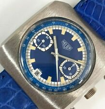 Rare Vintage Heuer Dugena Chronograph Mens Watch Valjoux 7734 c.1970's