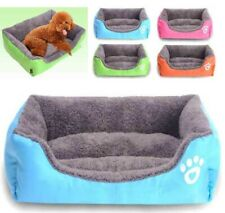 Pet Dog Nest Kennel Bed Cushion House Cat Puppy Fleece Warm  Pad Mat Blanket