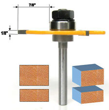 "1 pc 1/4"" SH 2-1/2"" Diameter 1/8"" Kerf Cut Off Deep Slot Router Bit  sct-888"