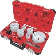 NEW MILWAUKEE 49-22-4105 19PC ELECTRICIANS HOLE SAW KIT BI METAL ICE HARDENED