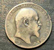 More details for 1904 king edward one penny coin