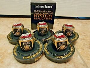 St Louis Cardinals '85 NLCS Mystery Replica Ring Ozzie McGee Coleman SGA 8-21-21