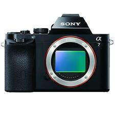 """Sony A7 Full Frame Mirrorless 3"""" LCD Compact System 24.3 MP Camera - Body Only"""