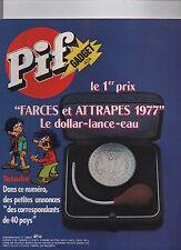 PIF GADGET n°424 - Avril 1977 - Etat neuf sans le gadget.