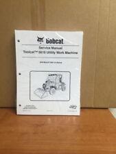 Bobcat 5610 Toolcat Utility Vehicle Service Manual Shop Repair Book 3 # 7228018