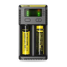 Nitecore I2 Charger Universal Intelligent 18650 26650 18350 Battery UK Plug