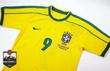 Maglia Ronaldo Brasile Mondiali1998 - Calcio Retro Mondiali Brazil France