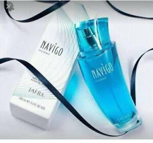 JAFRA NAVIGO FOR  Homme Eau De Toilette 3.3 fl.oz. New