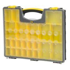 Stanley 25-Compartment Small Parts Organizer Storage Bin Plastic Containers Lock