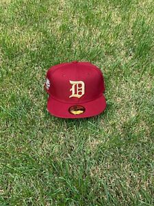Hat Club Exclusive Detroit Tiger 1945 BeanPot Collection 59Fifty Grey UV