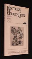 Histoire Educación (Janvier 1995 N º 65)