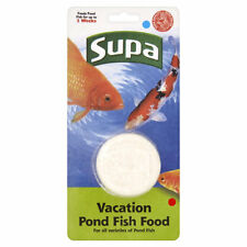 POND HOLIDAY FISH FOOD BLOCK - SUPA VACATION BLOCK SLOW RELEASE FISH FOOD