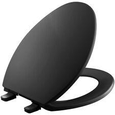 Kohler Black Elongated Toilet Seat Brevia Ergonomically Contoured for Comfort