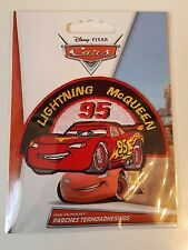 Disney Cars Lightning Mc Queen Patch Aufnäher Bügelbild NEU