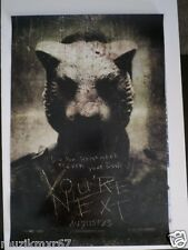 SDCC Comic Con 2013 EXCLUSIVE Lionsgate YOU'RE NEXT Horror Movie poster TIGER