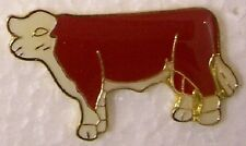 Hat Lapel Pin Scarf Clasp Animal Bull NEW