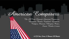 Great American Composers - Instrumental Music 4 CD NEW