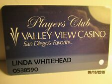 Valley View Casino- Players Club Card- Valley View Casino, San Diego, Ca. -mint