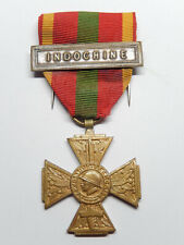 H12A) Belle médaille militaire combattant INDOCHINE french medal