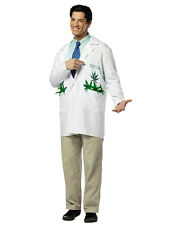 Dr Rohl A Doobie Medical Marijuana Lab Coat Adult Halloween Costume-One Size