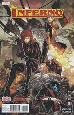 2015 SECRET WARS: INFERNO #1-5 Complete Limited Series Set X-Men Marvel Comics