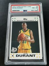 2007 Topps Rookie Card Kevin Durant #2 RC PSA 8 NEAR MINT