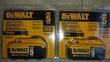 DEWALT 20V 20 VOLT  battery 2 x dcb205 5.0 batteries Retail packaging Brand NEW