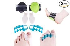 Plantar Fasciitis Therapy Wrap Gel Toe Separator & Stretcher for Yoga Foot Arch