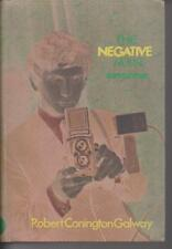 CRIME / hardcover/dust jacket , THE NEGATIVE MAN by ROBERT CONINGTON GALWAY 1971