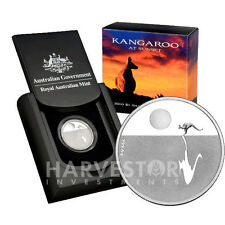 2012 KANGAROO AT SUNSET - SILVER COIN - ROYAL AUSTRALIAN MINT - WITH OGP COA