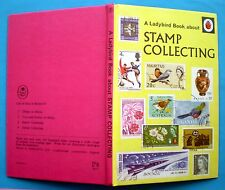 Stamp Collecting Ladybird vintage book hobbies history watermarks foreign UK