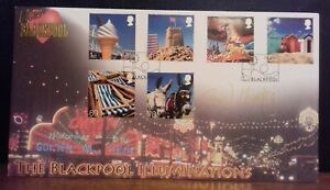 2007 Buckingham Covers Beside the Seaside First Day Cover Signed David Morrisey