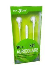 Cuffie Auricolari TeKone H-01 con Mcrofono E Controllo Volume 3,5mm hsb